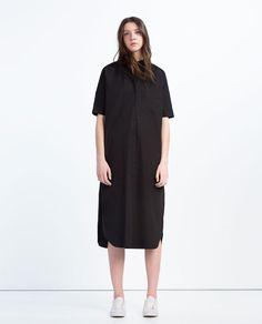 ZARA - WOMAN - EXTRA-LONG SHIRT DRESS