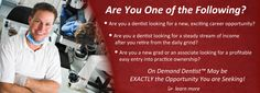 Franchise Opportunities with On Demand Dentist