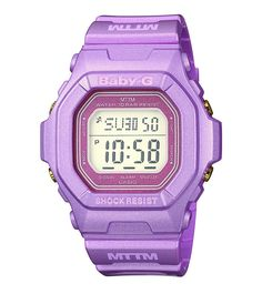 Baby-G Purple Watch
