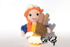 19 ° pattern for crocheted nativity: the furnace - The Cotton Tower Crochet Dolls, Crochet Hats, A Hook, New Years Eve Party, Xmas, Christmas, Yoshi, Snowflakes, Snoopy