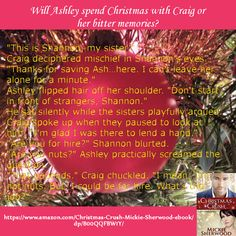 Ashley meets her rescuer, Craig, for the first time in this Christmas Crush Excerpt.