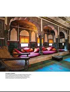 Feature story on Traditional Indian Style home from Architectural Digest India on Indian style #IndianHomeDecor