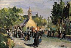 """Adolphe Cabon, """" Pardon de Notre-Dame des Croix, Loctudy """""""