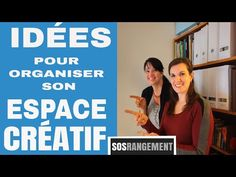 Idées pour espace créatif - SOS Rangement - YouTube Cooking For Two, Cooking Tips, Books, Cards, Scrapbooking, Recipes, Creative Area, Organization, Libros
