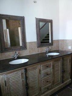 badkamermeubel van steigerhout badkamermeubels van