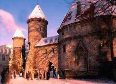 Tallinn. Viru Gates. Estonia