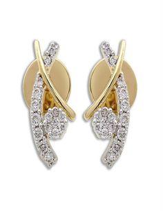 Sparkling Diamond Earring on www.diamonds4you.com