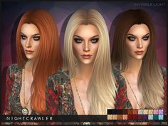Sims 4 CC's - The Best: Hair by Nightcrawler