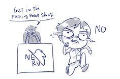 Anh ơi, anh có thể phác giúp em dáng của một nhân vật (style chibi) đang chạy hướng chính diện không? Em vẽ mãi mà nó cứ lệch lạc thế nào í :( | ask.fm/mentalproblemman