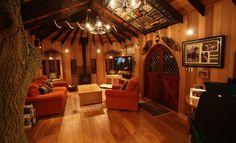 JK Rowling's Tree House Interior