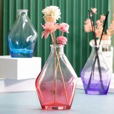 Unique irregular shape, gradient translucent #aromatherapy bottle, support customization!