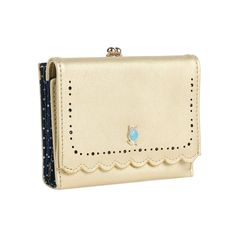 Damara Womens Chic Perforation Wallet Kiss-lock Snap Trifold Purse ** Check this awesome product by going to the link at the image. (This is an Amazon Affiliate link and I receive a commission for the sales)