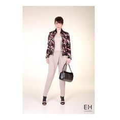 •E N I H O R N LOOKBOOK SS'17•  Not much to talk about get yourself this outfit asap! Include: the GISELLE #bomberjacket GINGER #top LOLA #pants and PIXI #bag 🌺 . . . #sunnyday #summervibes #flowers #black #nude #ootd #happy #monday #lookinggood