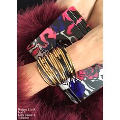 Fall Style Report! Dress up your night with Lizzy James Gold Collection! Mix & Match multiple wrap bracelets for highstyle impact! #LizzyJamesInc #GoldJewelry #StayStylish