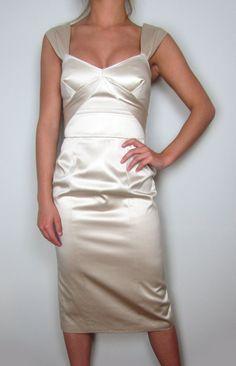 Temperley London 100% SILK dress with 100% SILK lining