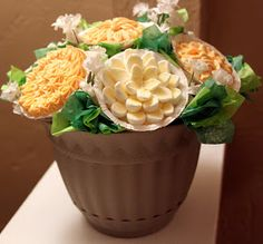 Real Life Pastor's Wife: Cup Cake Bouquet