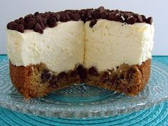 Chocolate-Chip Cookie Cheesecake