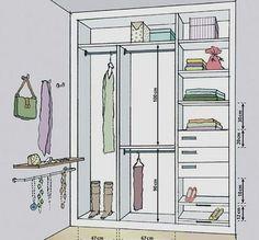 43 Ideas Walk In Closet Makeover Wardrobes Wardrobe Design Bedroom, Wardrobe Closet, Closet Bedroom, Custom Closet Design, Closet Designs, Closets Pequenos, Wardrobe Dimensions, Clothes Cabinet, Wardrobe Cabinets