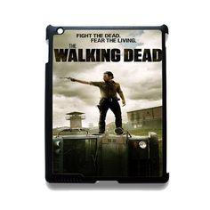 Fight The Dead Fear The Living Walking Dead TATUM-4199 Apple Phonecase Cover For Ipad 2/3/4, Ipad Mini 2/3/4, Ipad Air, Ipad Air 2