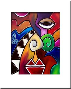 Tom Fedro Biography   Details about FIDOSTUDIO Original ART Abstract MODERN print - Giclee