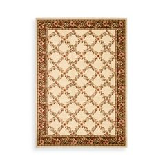 Product Image for Safavieh Lyndhurst Collection Feodore 3-Foot 3-Inch x 5-Foot 3-Inch Rectangle Rug in Ivory and Brown  Possible rug