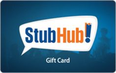 Enter to win a $50 StubHub Gift Card.  Ends: 02/08/2017 Value: $50 Eligibility: US 18+ Daily Entry.  Enter: http://giveawayplay.com/2017/02/06/50-stubhub-gift-card-giveaway/