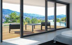 Οδηγός επιλογής κουφωμάτων | Texnitesonline.gr Design Slide, Sweet Home, Exterior, Windows, Room, House, Furniture, Instagram, Home Decor