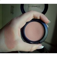 Mac blush in Tenderling. LOVE this blush! It's the perfect neutrally pink co… Mac blush in Tenderling. LOVE this blush! It's the perfect neutrally pink color. Great for fair skin Mac Makeup, Love Makeup, Makeup Inspo, Makeup Inspiration, Makeup Tips, Beauty Makeup, Creative Inspiration, Makeup Products, Beauty Products