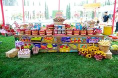 """Awesome bridal shower idea!! Taking the """"sweets table"""" to a whole new level!!"""