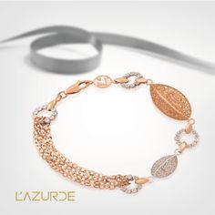 Gold Weight: 10.1 g Code : 1030016  More details at www.lazurde.com/Dentelle