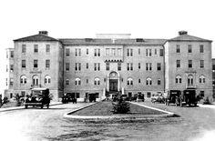 Original Saint Agnes Hospital (Fruit/Floradora), Fresno, California USA | built in 1929 I gave birth to my first son there 1972