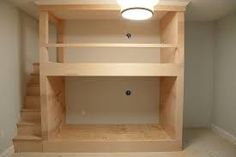 Image result for built in bunk beds