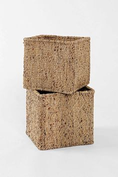 Water Hyacinth Basket Set (Wicker Drawers to keep clothes on shelves)