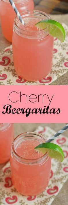Cherry Beergaritas - these will become your official summer drink!