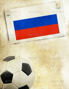 Photo of Russia flag and soccer ball ...  abstract, activity, arrangement, art, background, ball, champion, championship, colorful, competition, concept, country, design, equipment, europe, event, flag, football, game, gear, goal, group, ink, international, league, leather, leisure, match, nation, national, nationality, nature, object, paint, passion, play, qualified, recreation, russia, sign, soccer, sport, stadium, symbol, team, team sport, tournament, win, winner, world