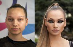 Un peu de maquillage, et ça change tout ! #Espacebuzz