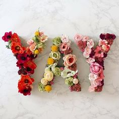 How To: Floral Letter