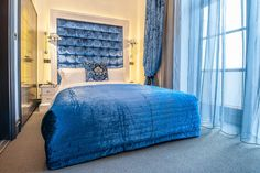 Luxury room with balcony, The Exhibitionist Hotel, South Kensington, London