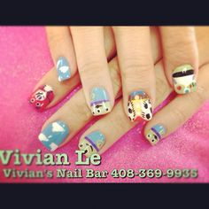 Toy story nail Toy Story Nails, Disney Nails, Super Nails, Nail Nail, Disney Cartoons, Birthday Fun, Movie, My Favorite Things, Tv