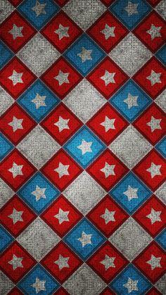 Memorial Day Pattern IPhone 6 Wallpaper