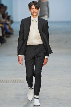 Costume National Spring 2014 Menswear Collection Slideshow on Style.com
