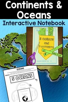 Continents and oceans activities interactive notebook ocean continents and oceans activities interactive notebook gumiabroncs Choice Image