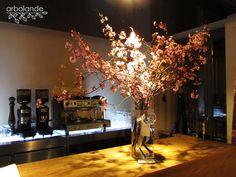 Arreglo de ramas de ciruelo japonés en flor :: Japanese plum tree branches in flower