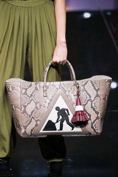 ANYA HINDMARCH Under Construction Exotic #Handbag #LFW