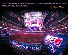 The World Famous Houston Livestock Show and Rodeo..and especially the Cook-off!