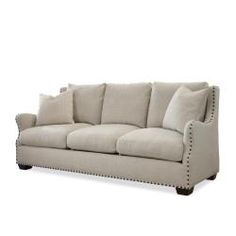 Shop a great selection of Universal Furniture Connor Collection Sofa, Linen. Find new offer and Similar products for Universal Furniture Connor Collection Sofa, Linen. Living Room Sofa, Living Room Furniture, Cream Furniture, Furniture Decor, Living Rooms, Transitional Sofas, Wholesale Furniture, Upholstered Sofa, Cushions On Sofa