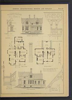 First Story, Front Elevation, Architecture Plan, Kit Homes, Mid Century House, Queen Anne, House Floor Plans, New England, How To Plan