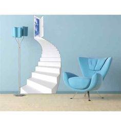 escalier montmartre koziel trompe l 39 oeil pour porte creative perspectives pinterest. Black Bedroom Furniture Sets. Home Design Ideas