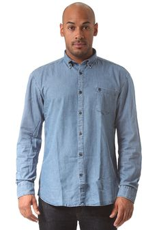 #planetsports SELECTED - Collect Denim L/S Shirt light blue denim
