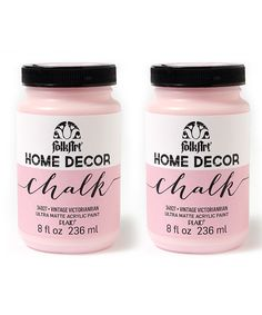Loving this Vintage Victorian 8-Oz. Chalk Paint - Set of Two on #zulily! #zulilyfinds